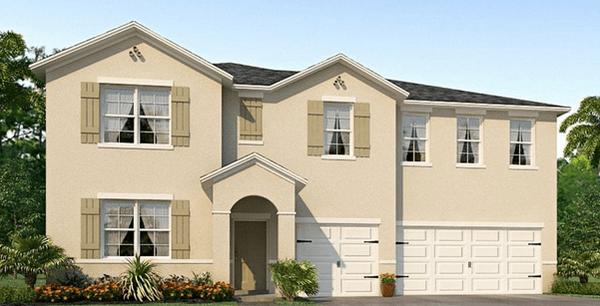 D.R. Horton Homes Park Creek Riverview Florida 33578