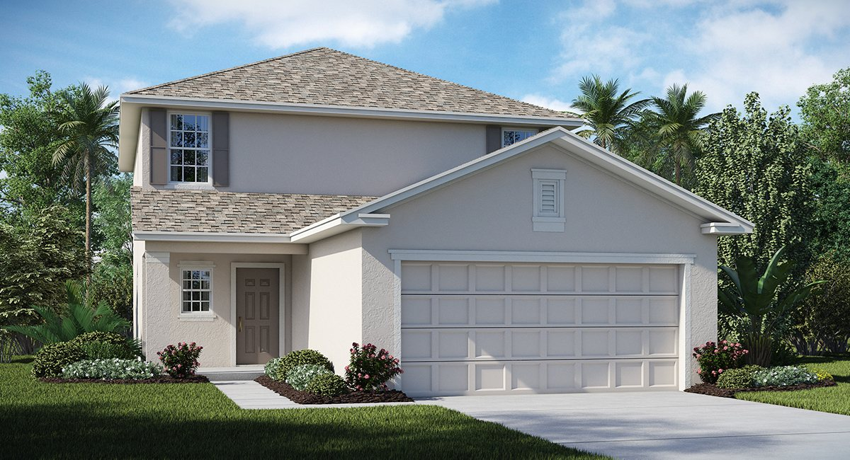 Union Park The Delaware 1,810 sq. ft. 3 Bedrooms 2.5 Bathrooms 1 Half bathroom 2 Car Garage 2 Stories Wesley Chapel Fl
