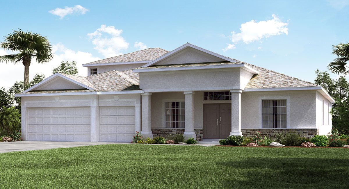 You are currently viewing Sereno The Grande Charleston 3,353 sq. ft. 4 Bedrooms 4 Bathrooms 3 Car Garage 2 Stories Wimauma Fl