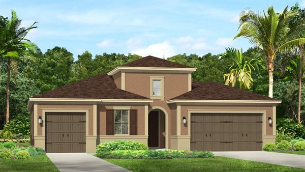 You are currently viewing Hamilton II – Italianate of the Waterleaf community in Riverview, FL.