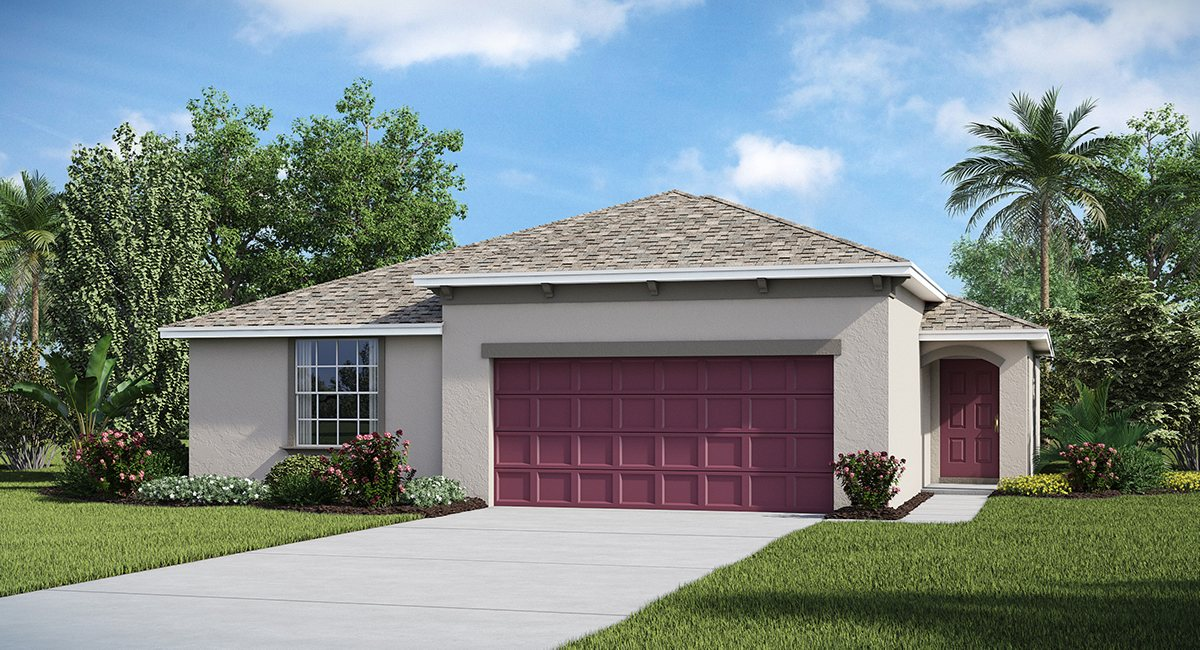 Ayersworth The  Harrisburg  1,798 sq. ft. 4 Bedrooms 2 Bathrooms 2 Car Garage 1 Story Wimauma Fl