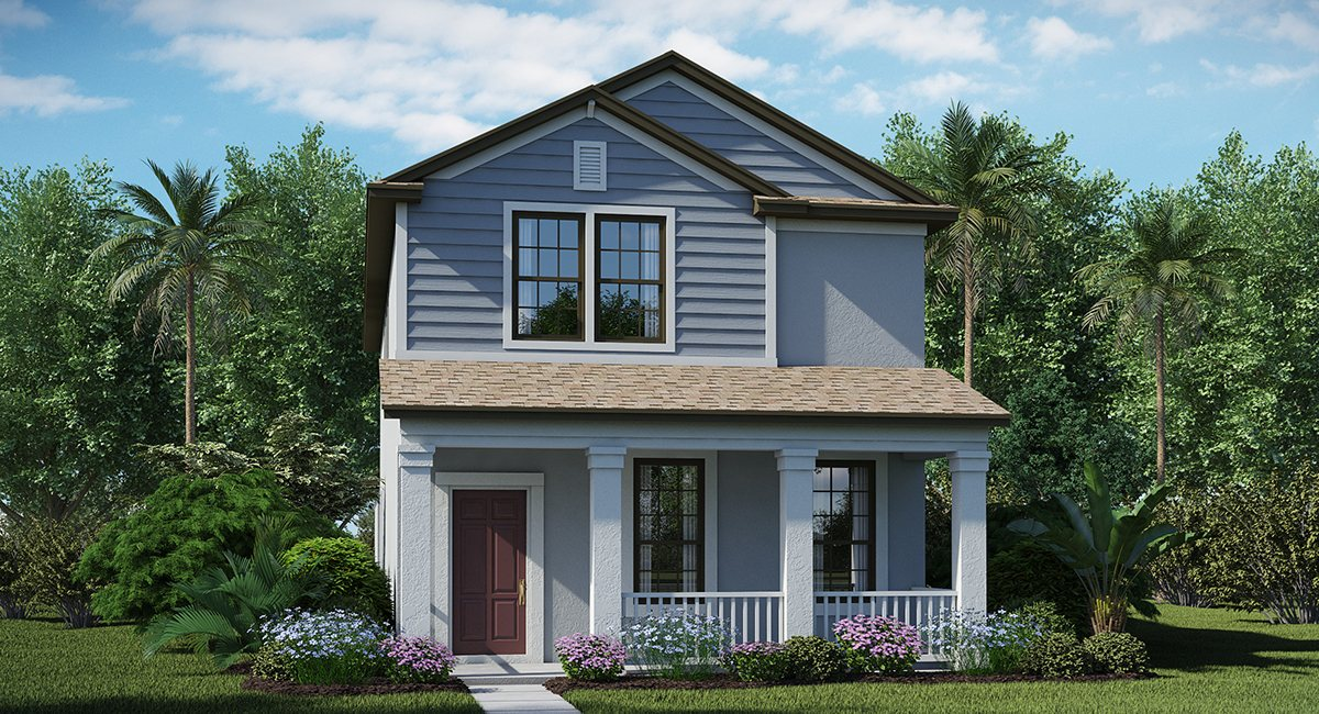 The Arbors at Wiregrass Ranch Magnolia 2,204 sq. ft. 3 Bedrooms 2 Bathrooms 1 Half bathroom 2 Car Garage 2 Stories Wesley Chapel Fl
