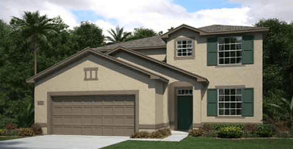 Lennar Homes Concord Station Land O Lakes Fl New Home