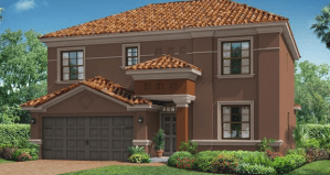 Monaco New Home Plan in Waterleaf 50