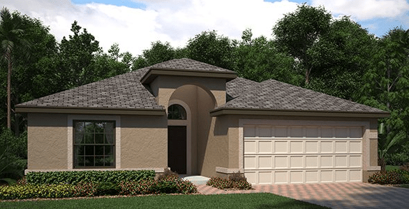 Ballentrae The Normandy 1,909 sq. ft. 4 Bedrooms 3 Bathrooms 2 Car Garage 1 Story Riverview Fl