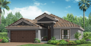 Waterleaf The Normandy 1,909 sq. ft. 4 Bedrooms 3 Bathrooms 2 Car Garage 1 Story Riverview Fl