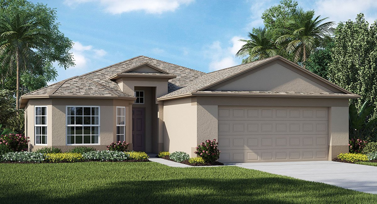 Ayersworth The  Oakmont 1,724 sq. ft. 3 Bedrooms 2 Bathrooms 2 Car Garage 1 Story Wimauma Fl