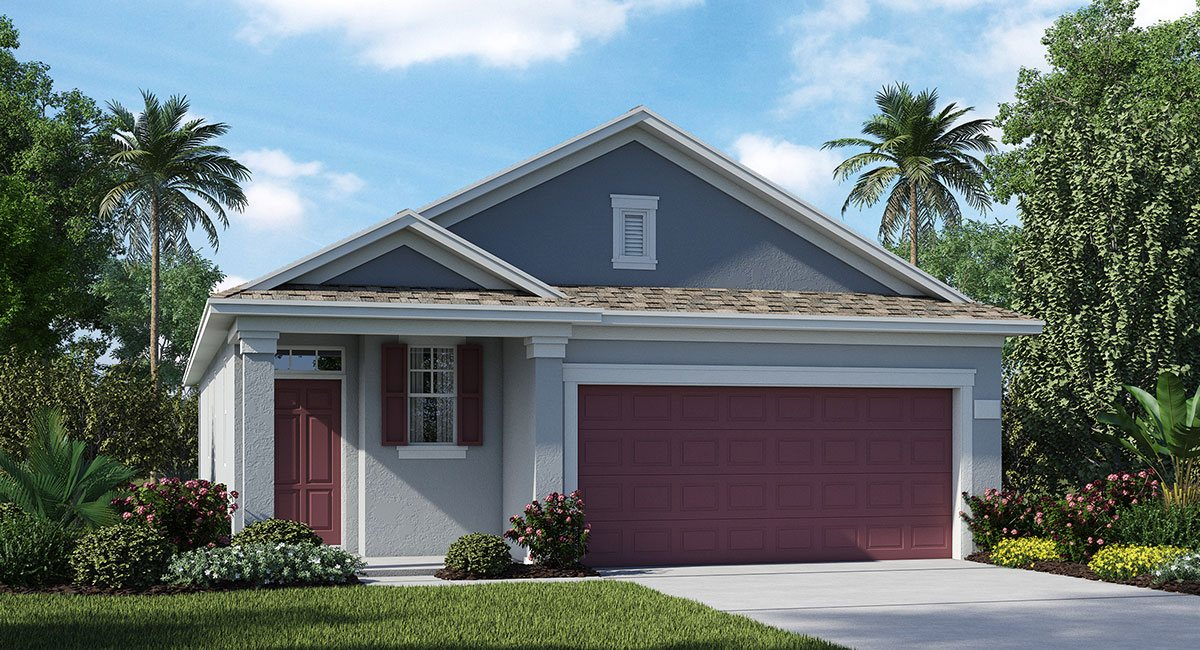 Connerton The Oxford 1,612 sq. ft. 3 Bedrooms 2 Bathrooms 2 Car Garage 1 Story Land O Lakes Fl