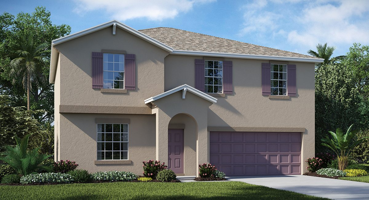 Hawks Landing The Providence 2,562 sq. ft. 4 Bedrooms 2 Bathrooms 1 Half bathroom 2 Car Garage 2 Stories Ruskin Fl