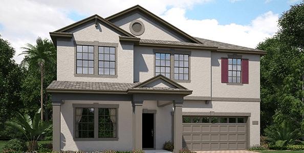 Lennar Homes Heron Preserve at K-Bar Ranch New Tampa Fl New Homes