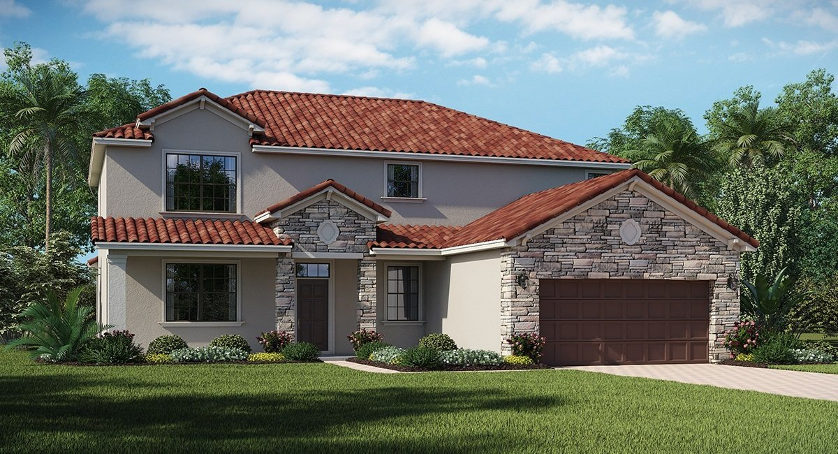 You are currently viewing Waterleaf The Revere 2,780 sq. ft. 4 Bedrooms 3 Bathrooms 3 Car Garage 2 Stories Riverview Fl