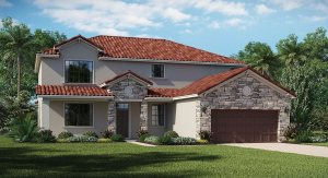 Waterleaf The Revere 2,780 sq. ft. 4 Bedrooms 3 Bathrooms 3 Car Garage 2 Stories Riverview Fl