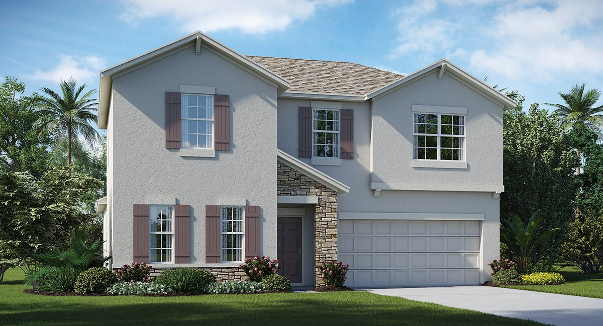 You are currently viewing Ballentrae The Rhode Island  2,533 sq. ft. 4 Bedrooms 2 Bathrooms 1 Half bathroom 2 Car Garage 2 Stories Riverview Fl