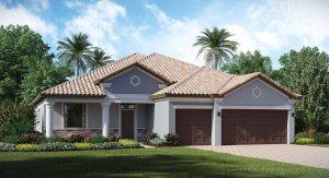 Waterleaf Sand Dollar 2,460 sq. ft. 4 Bedrooms 3 Bathrooms 3 Car Garage 1 Story Riverview Fl