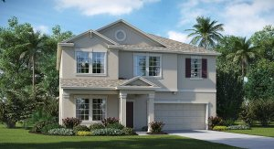 Connerton  The South Carolina 2,947 sq. ft. 4 Bedrooms 2 Bathrooms 1 Half bathroom 2 Car Garage 2 Stories  Land O Lakes Fl