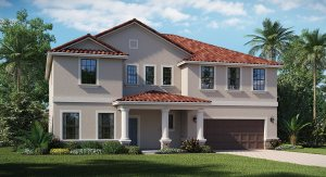 Waterleaf/Waterleaf-Executive/The Stonewood 2,926 sq. ft. 4 Bedrooms 2.5 Bathrooms 3 Car Garage 2 Stories Riverview Fl