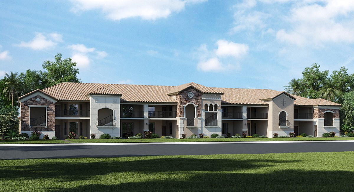 The Diangelo  1,366 sq. ft. 2 Bedrooms 2 Bathrooms 1 Car Garage 1 Story Lakewood Ranch Fl