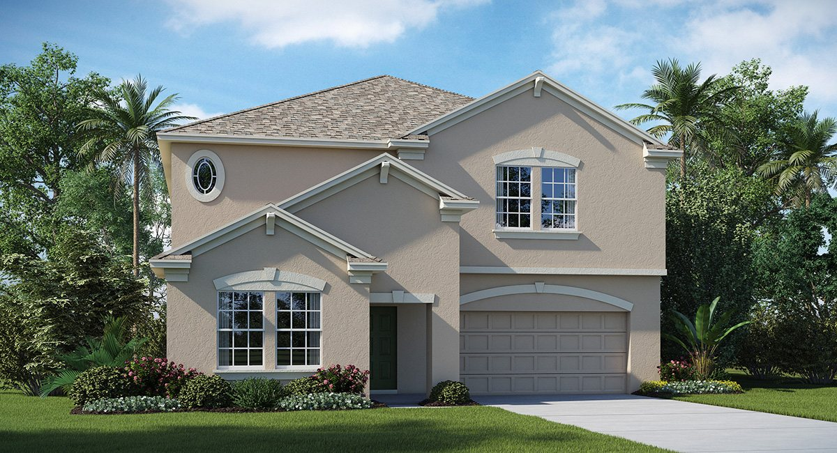 You are currently viewing The Oaks at Shady Creek The Vermont 3,288 sq. ft. 5 Bedrooms 3 Bathrooms 3 Car Garage 2 Stories Riverview Fl