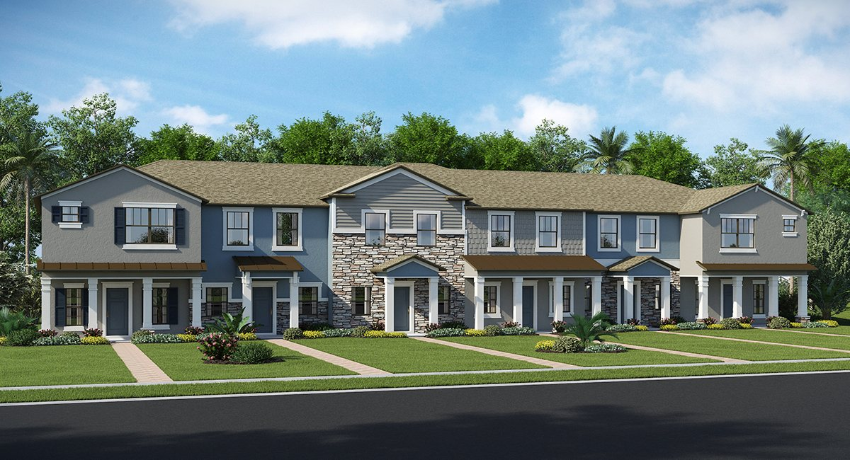 The Arbors at Wiregrass Ranch The Sycamore 1,464 sq. ft. 2 Bedrooms 2 Bathrooms 1 Half bathroom 1 Car Garage 2 Stories Wesley Chapel Fl