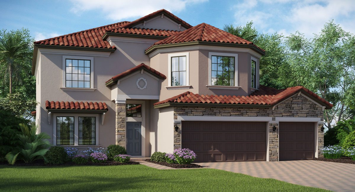Lennar Homes Waterleaf Riverview Florida New Homes