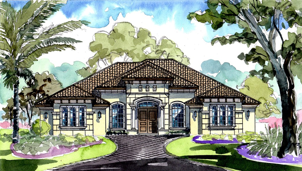 Stonelake Ranch The Milano 4,003 square feet 3 bed, 3.5 bath, 4 car, 1 story Thonotosassa Fl