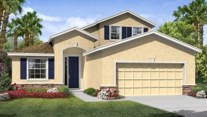 Park Creek The Bedford 2,592 square feet 3 bed, 2.5 bath, 2 car, 2 story Riverview Fl