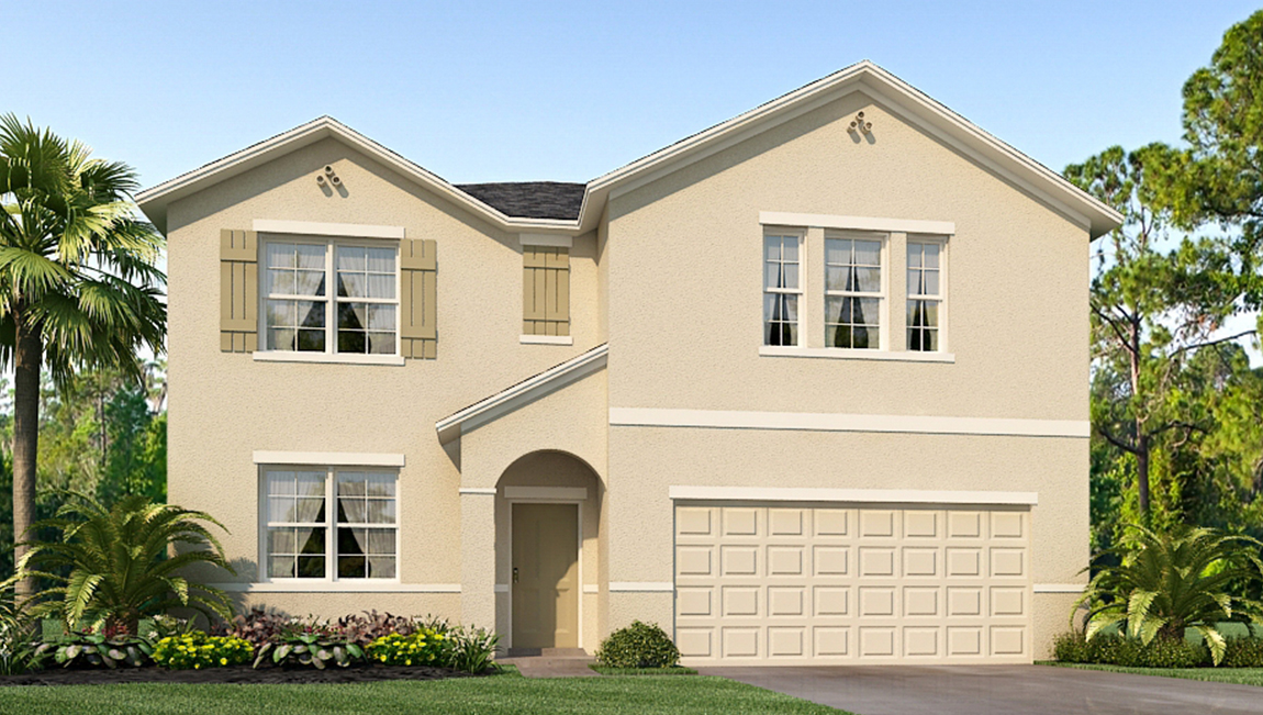 Riverview Meadows The Embry 3,020 square feet 5 bed, 2.5 bath, 2 car, 2 story Riverview Fl