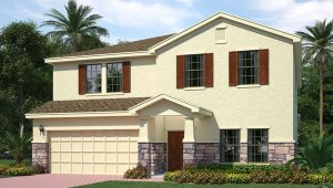 Park Creek The Holden 3,129 square feet 4 bed, 3 bath, 2 car, 2 story Riverview Fl