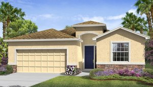 Avalon Park West The Lantana 2,045 square feet 4 bed, 2.5 bath, 2 car, 1 story Wesley Chapel Fl