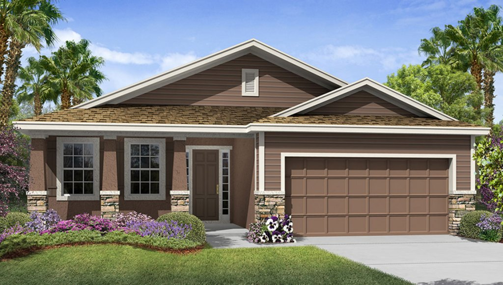 Avalon Park West The Laurel 1,844 square feet 3 bed, 2 bath, 2 car, 1 story Wesley Chapel Fl