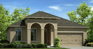 The Reserve at Pradera The St Augustine II 2,056 Sq Ft 4 – 3 Beds 2 Baths 2 Car Garage Riverview Fl