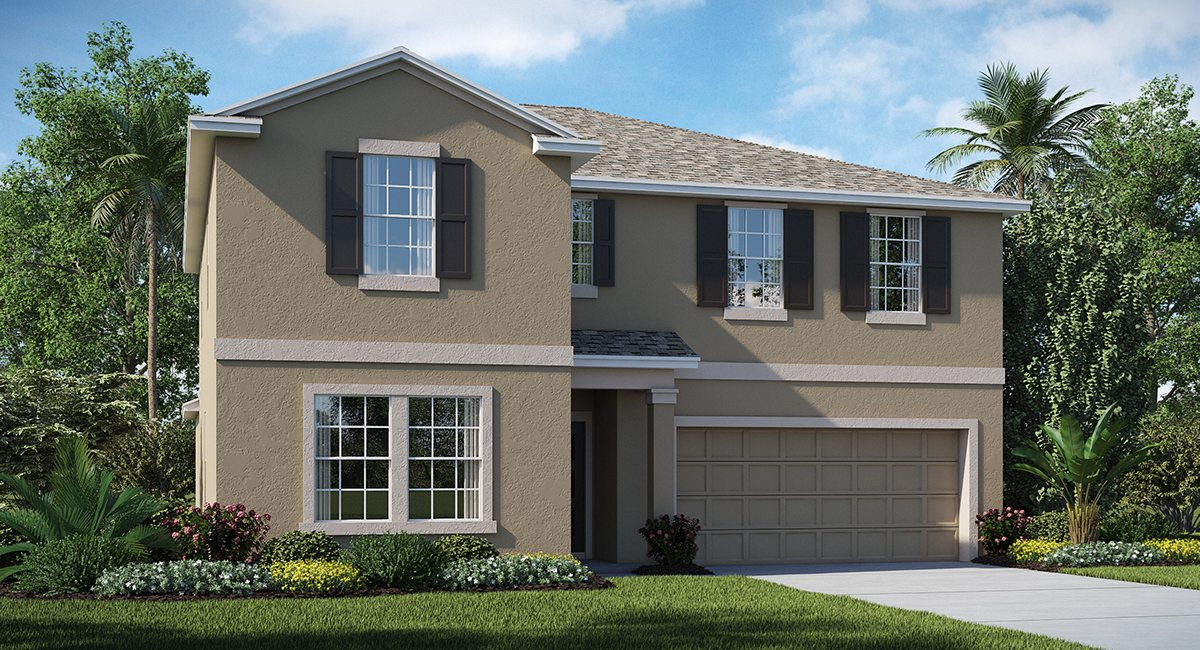 Stonegate-At-Ayersworth The Trenton  3,327 sq. ft. 6 Bedrooms 3 Bathrooms 2 Car Garage 2 Stories Wimauma Fl
