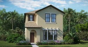 New Homes The Arbors at Wiregrass Ranch: Manor Homes  Wesley Chapel Florida 33543