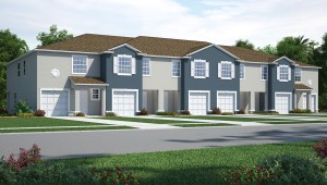 Osprey Lakes Townhomes Riverview Florida New Town Homes