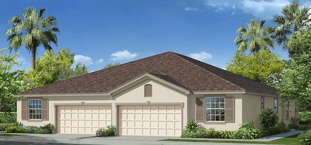 D.R. Horton Windchase Villas @ Watergrass Wesley Chapel Florida