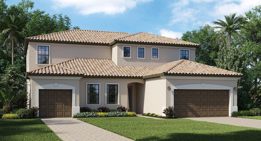 Lennar Homes Bridgewater LakeWood Ranch Fl New Homes