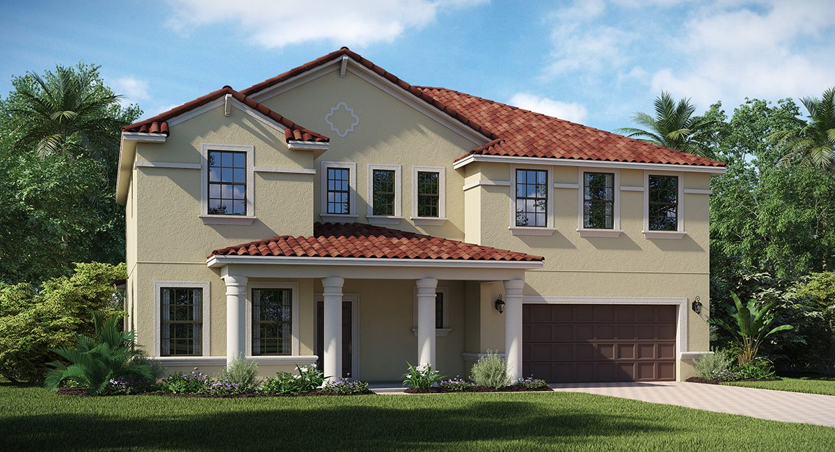 Sessums Elementary School & New Homes Riverview Florida
