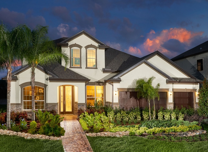 Meritage Homes Mariposa Riverview Florida