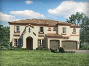 Savanna-At-Lakewood-Ranch The Elliot 4,241 sq. ft. , 6 bed , 4 bath , 3 bay garage , 2 story