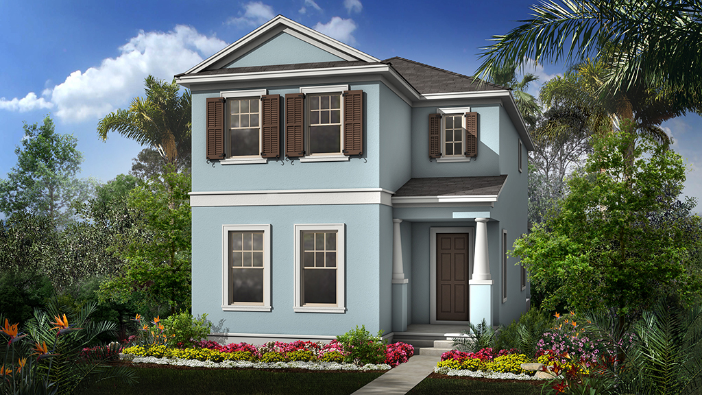 Taylor Morrison Homes Winthrop Village Riverview Florida