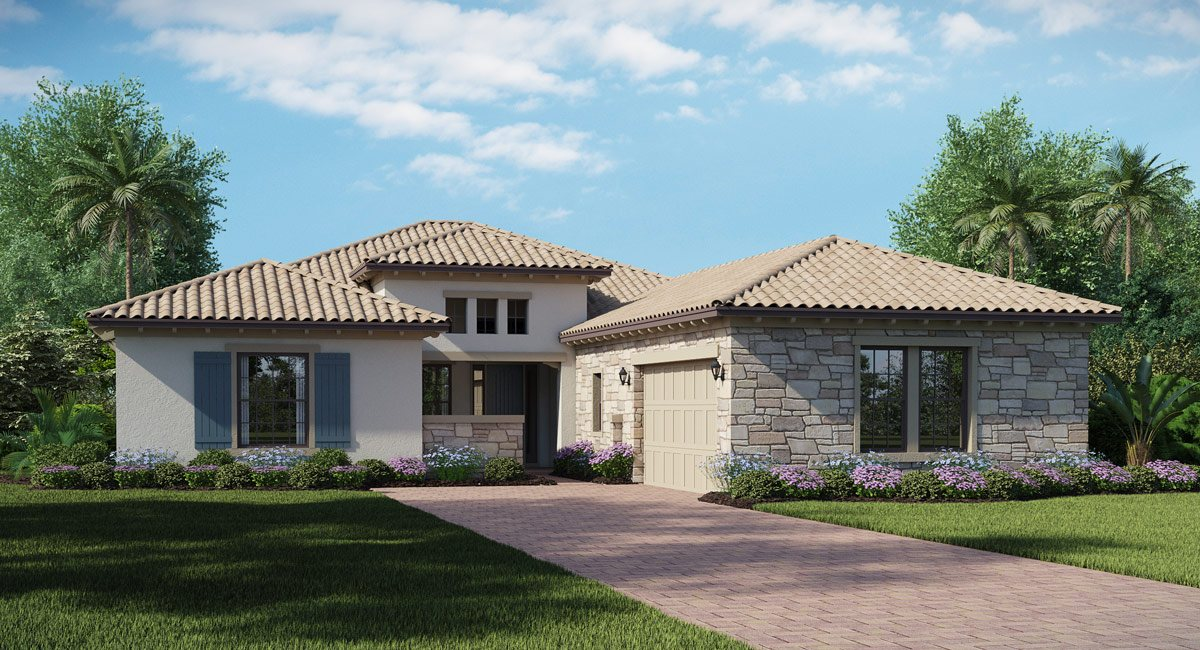 Country Club East New Golf Homes Lakewood Ranch Florida