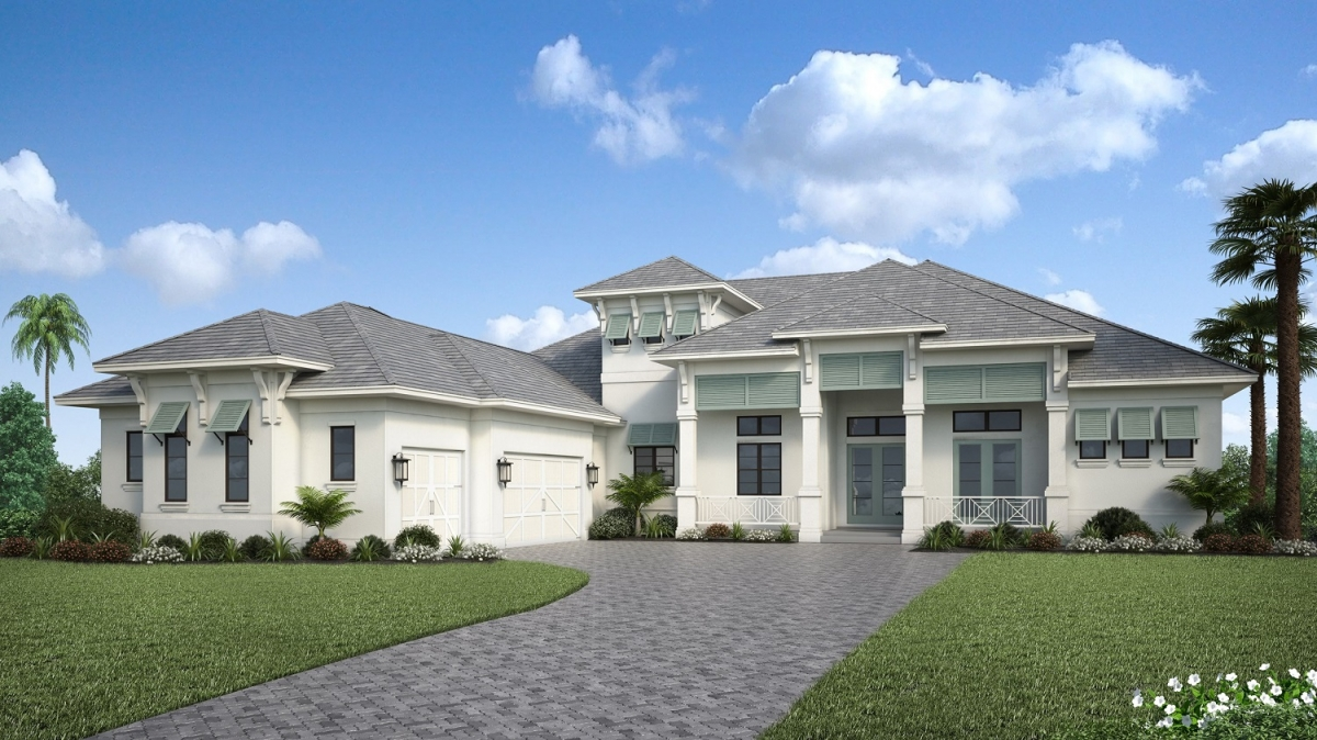 Cameron in Manor at The Lake Club, Lakewood Ranch by Stock Signature Homes #75