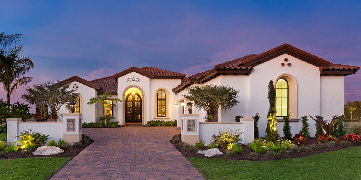 The Akarra IV in The Vinyards at The Lake Club, Lakewood Ranch by John Cannon Homes #68