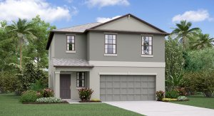 The Atlanta  Model Tour Lennar Homes Cypress Creek Ruskin Florida