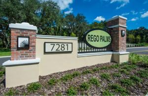 Rego Palms New Town Homes Community Tampa Florida