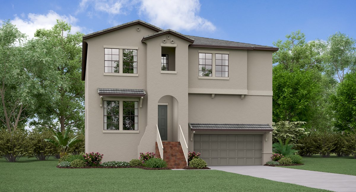 SouthPort The Illinois Model Tour Lennar Homes South Tampa Florida