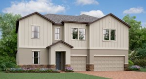 The  California Model Tour Lennar Homes Tampa Florida