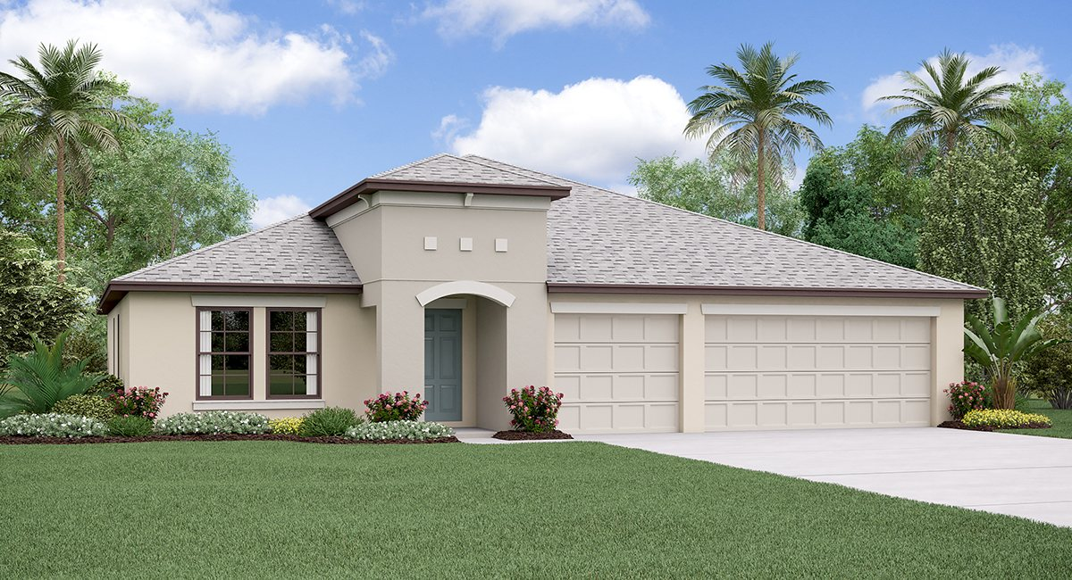 The  Lincoln Model Tour Belmont Lennar Homes Ruskin Florida