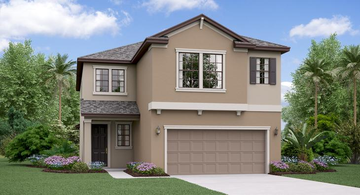 Belmont The  New Hampshire Model Tour Ruskin Florida Real Estate | Ruskin Realtor | New Homes for Sale | Ruskin Florida