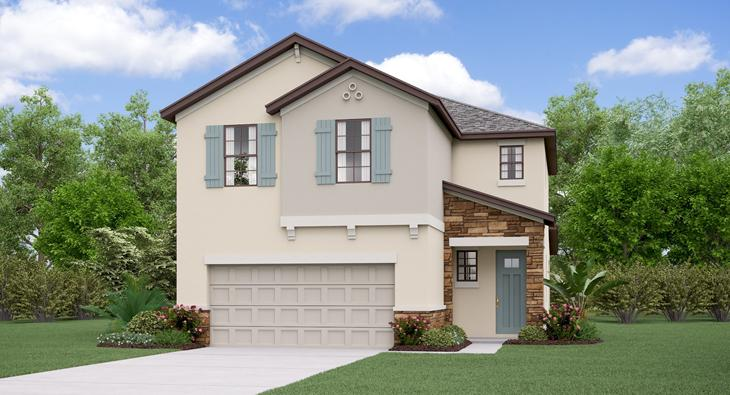 Belmont The  Wisconsin  Model Tour Lennar Homes Ruskin Florida
